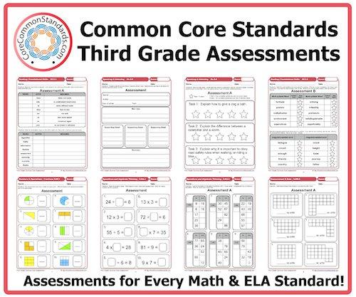 3rd Grade Common Core Math Worksheets Third Grade Common Core