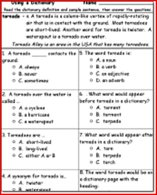 3rd Grade Reading Worksheets To Print The Best Worksheets Image