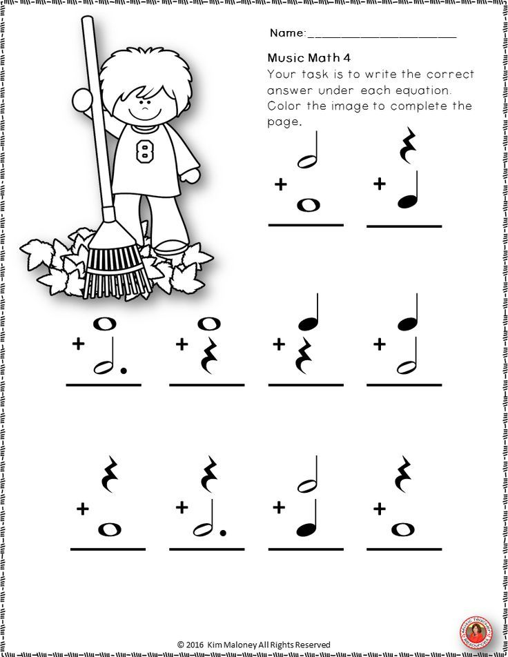 45 Music Worksheets For Kids, Worksheets Music Theory Worksheet