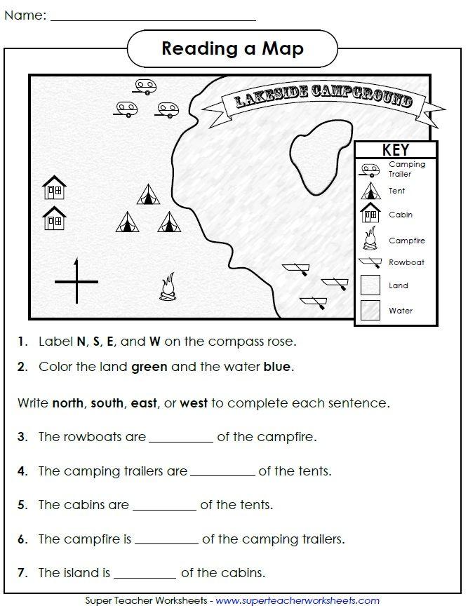48 2nd Grade Social Studies Worksheets, Second Grade Social
