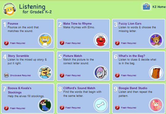 6 Best Websites With Listening Activities For Preschool Children