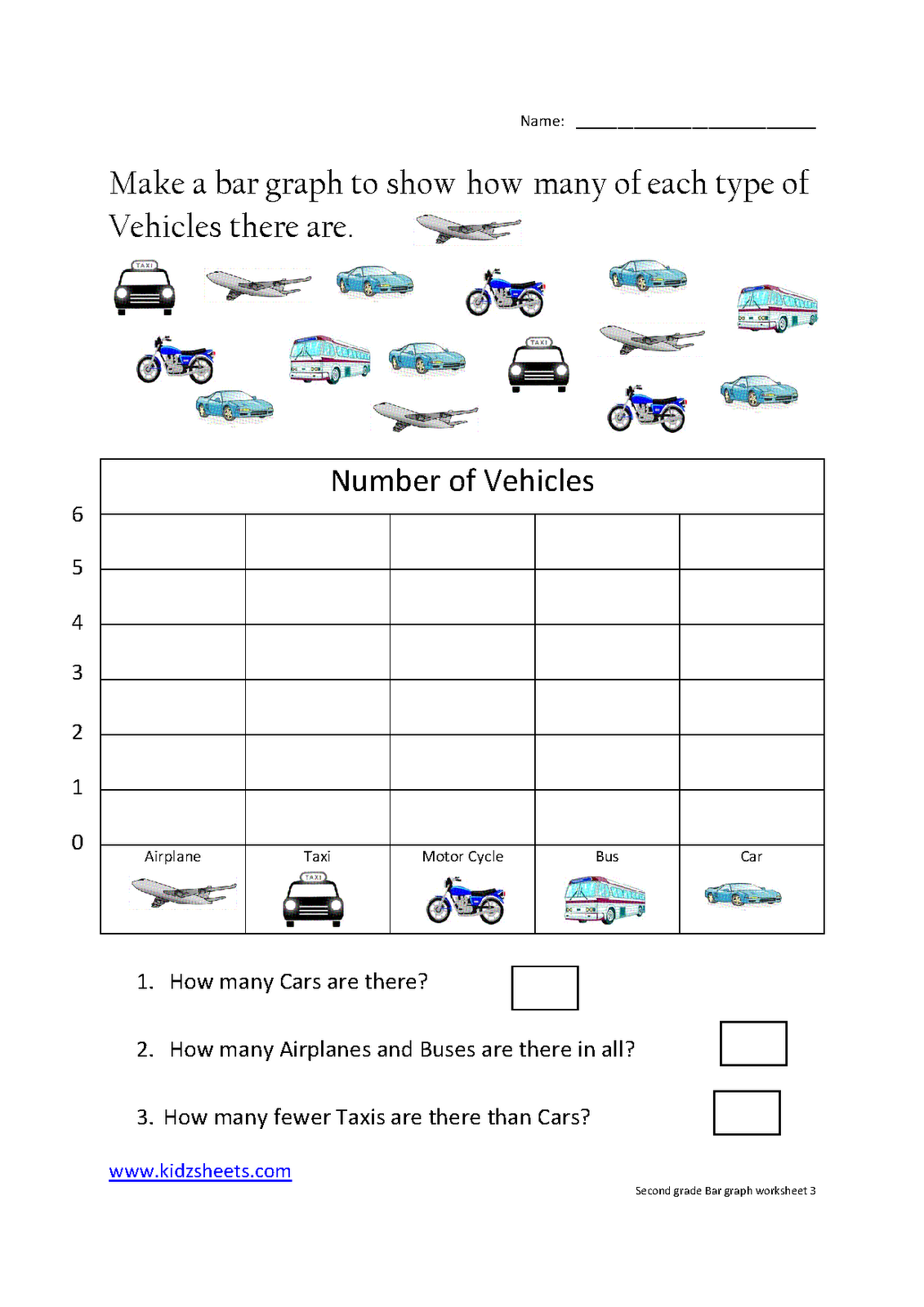 7 Best Images Of Free Printable Bar Graph Worksheets, Reading