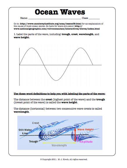 80 Best Oceanography Images On Free Worksheets Samples
