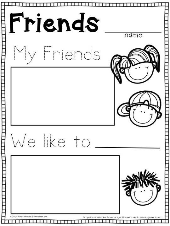 98 Best Friendship Images On Free Worksheets Samples