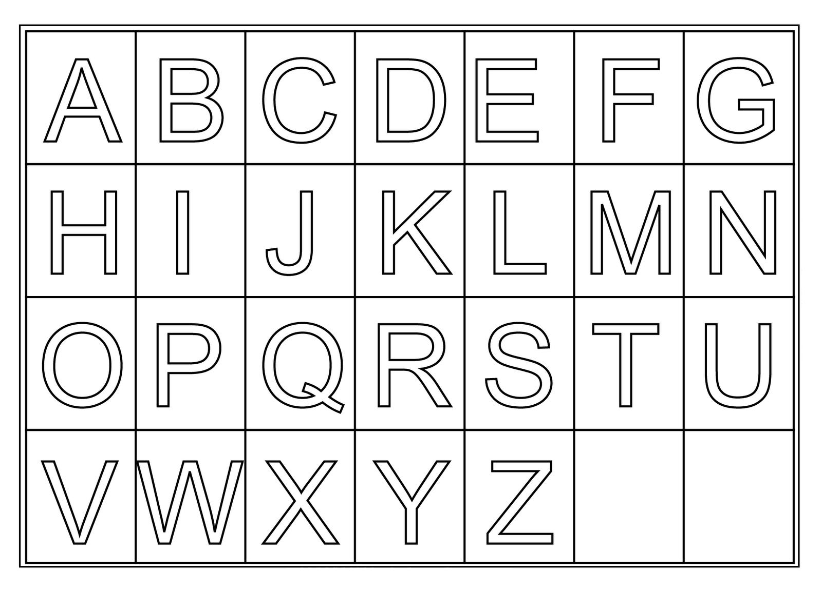 Alphabet Worksheets Printable Preschoolers Free 1111215