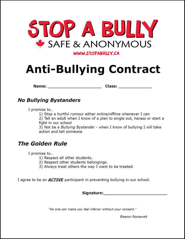 Anti Bullying Worksheet 503590