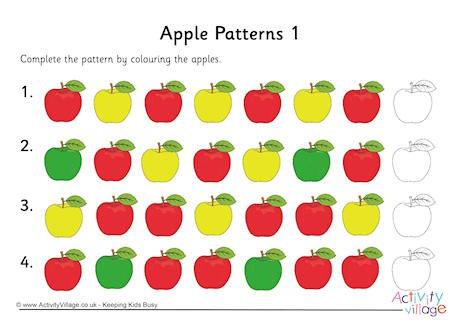 Apple Patterns 1