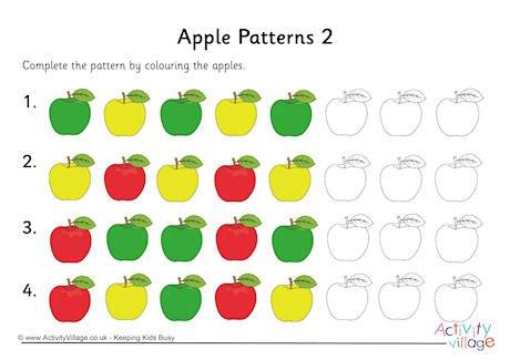 Apple Patterns 2