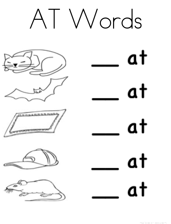 At Words Worksheet For The Best Worksheets Image Collection
