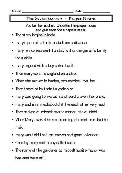 Awesome Collection Of Common Nouns Proper Nouns And Pronouns
