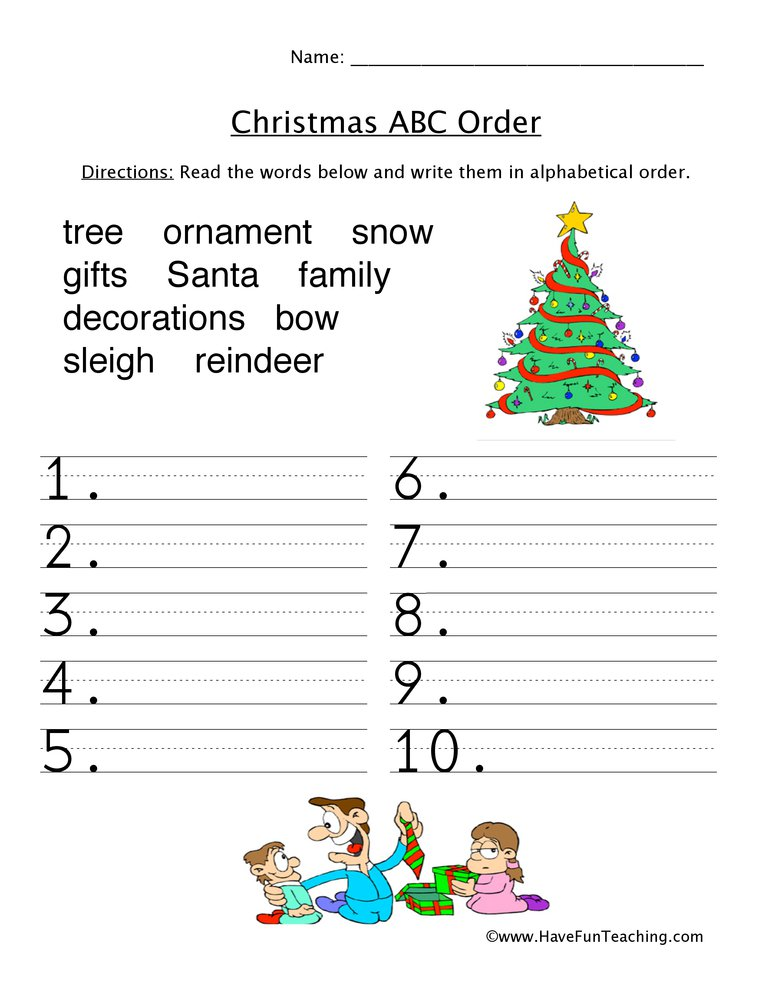 Christmas Worksheets For 3rd Grade The Best Worksheets Image
