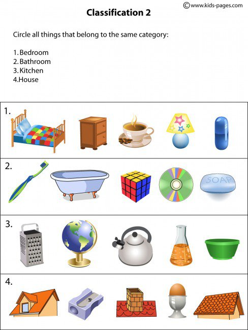 Classification Worksheets The Best Worksheets Image Collection