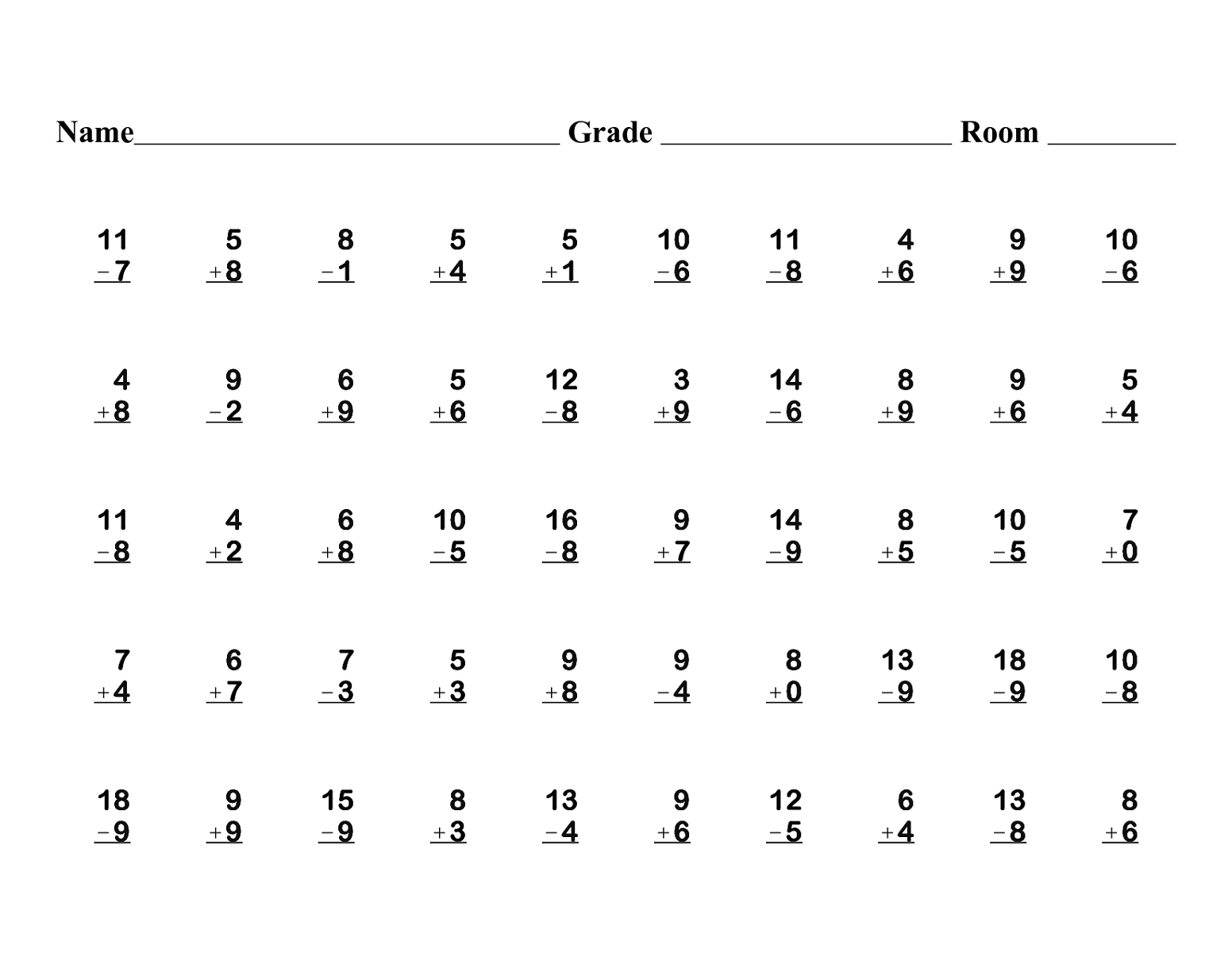 Collection Of 1st Grade Math Worksheets Multiplication