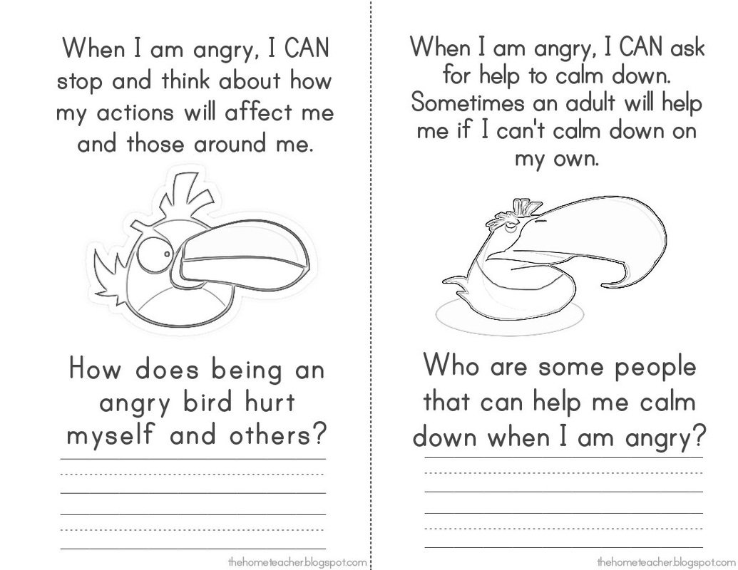 Collection Of Angry Birds Kindergarten Worksheets