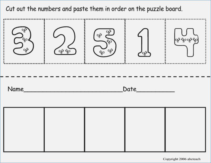Collection Of Cutting Worksheets For Pre K