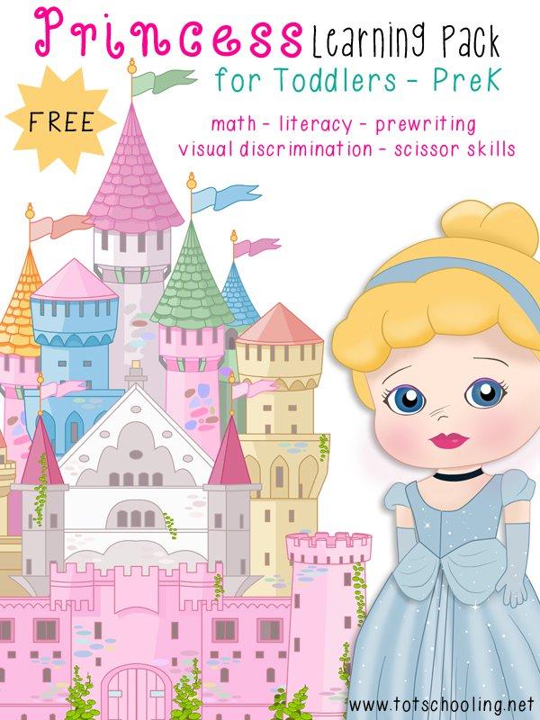 Collection Of Disney Princess Preschool Worksheets