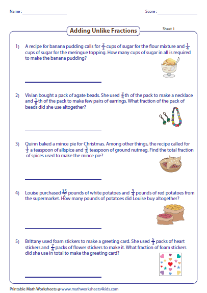 Collection Of Fraction Word Problems Worksheets Multiplication And