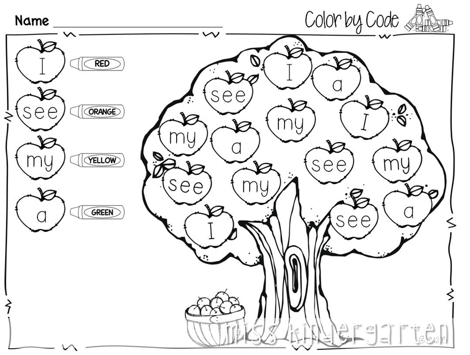 Collection Of Free Printable Fall Worksheets For Kindergarten