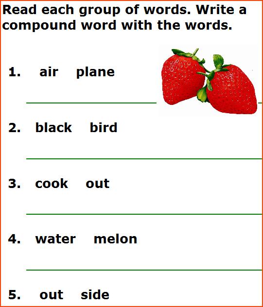 Collection Of Free Printable Grammar Worksheets For Kindergarten