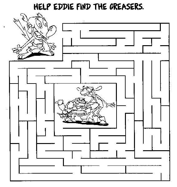 Collection Of Free Printable Maze Worksheets For Kindergarten