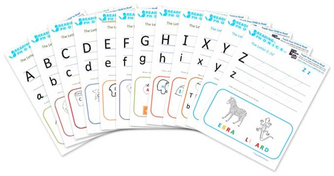 Collection Of Free Printable Phonics Worksheets Kindergarten