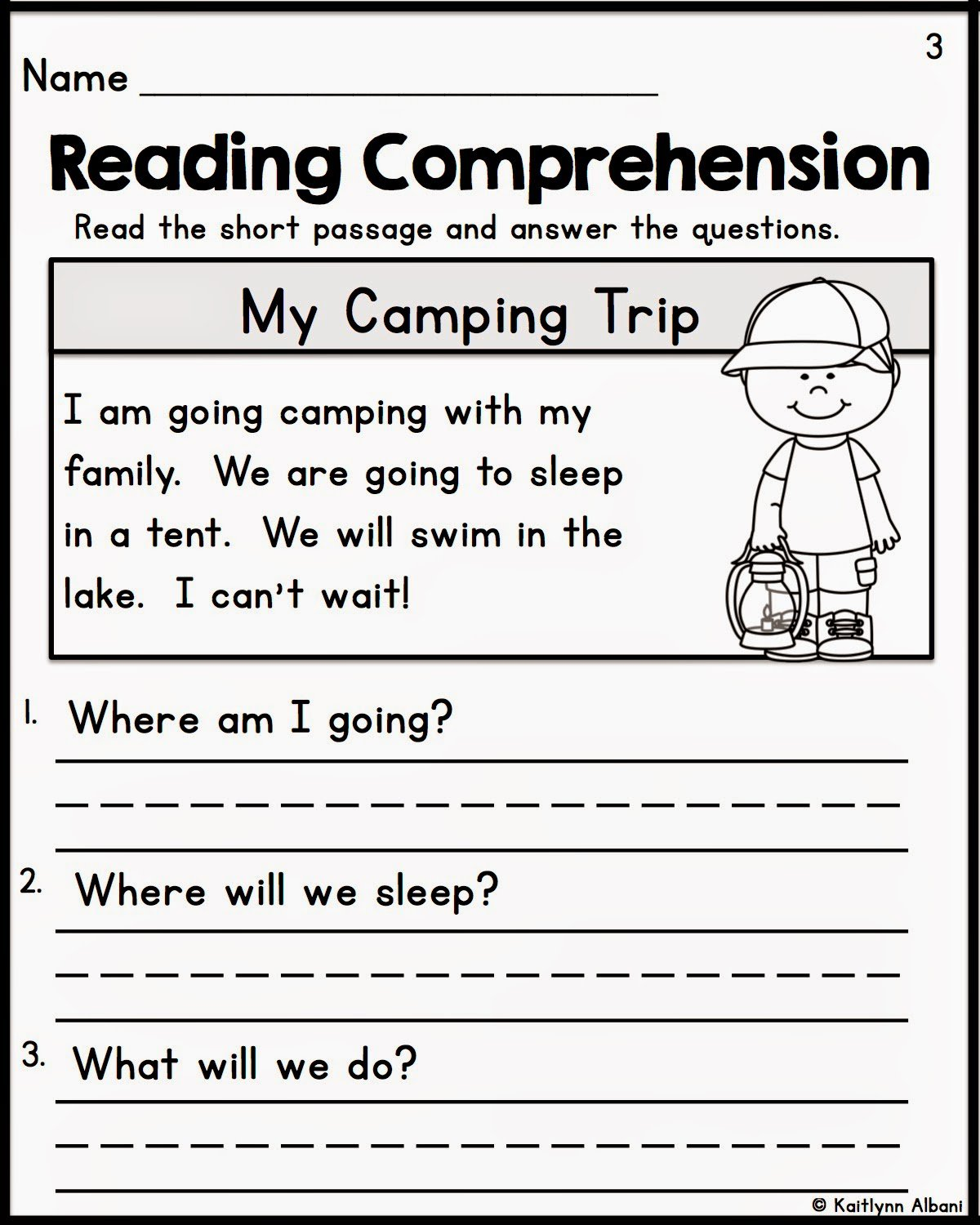 Collection Of Free Printable Reading Worksheets For Kindergarten