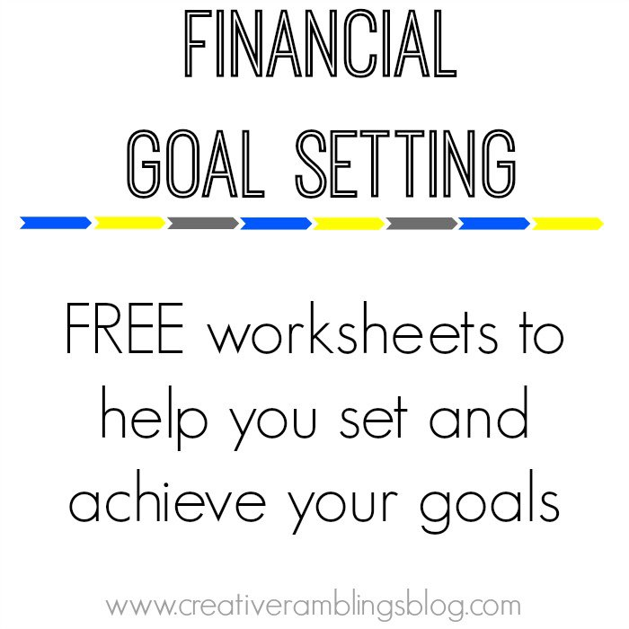 Collection Of Goal Worksheets
