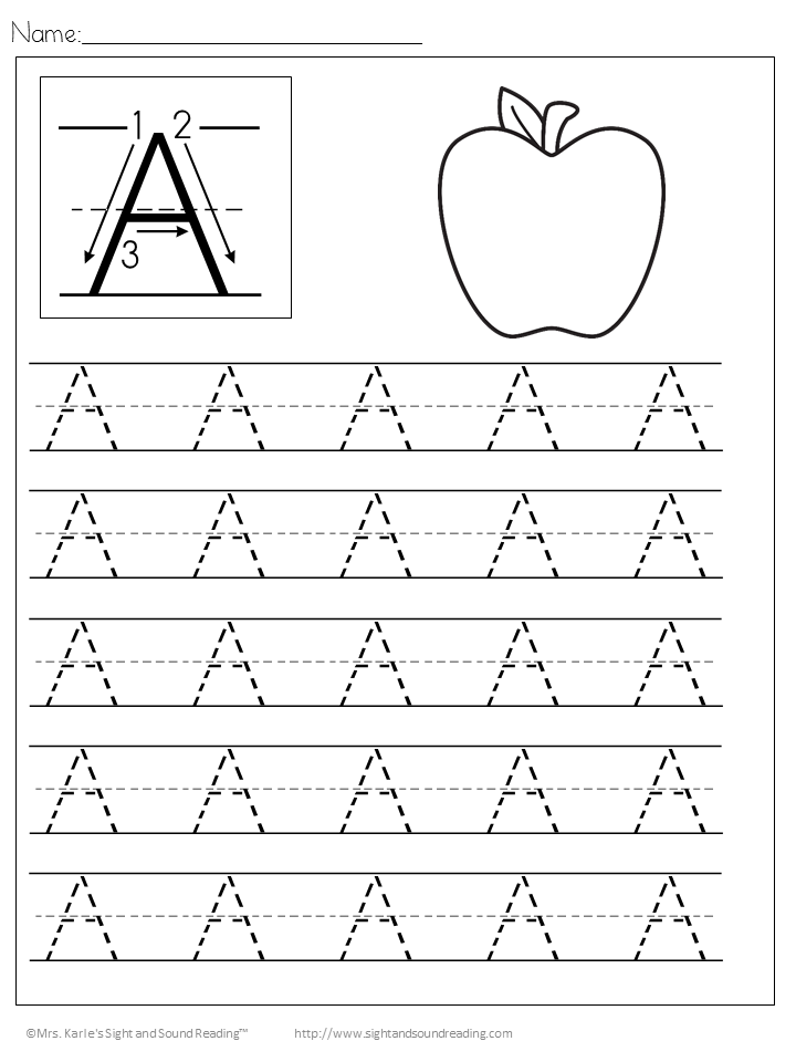 Collection Of Handwriting Worksheets For Preschool Free