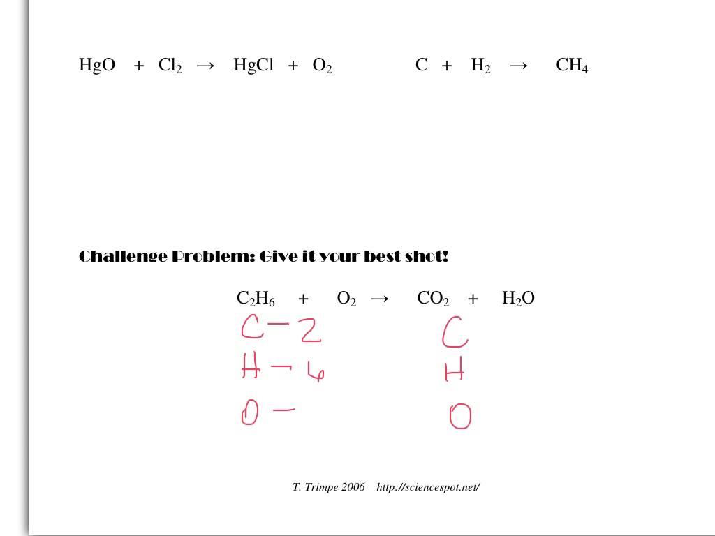 Collection Of Math Worksheets Balancing Equations