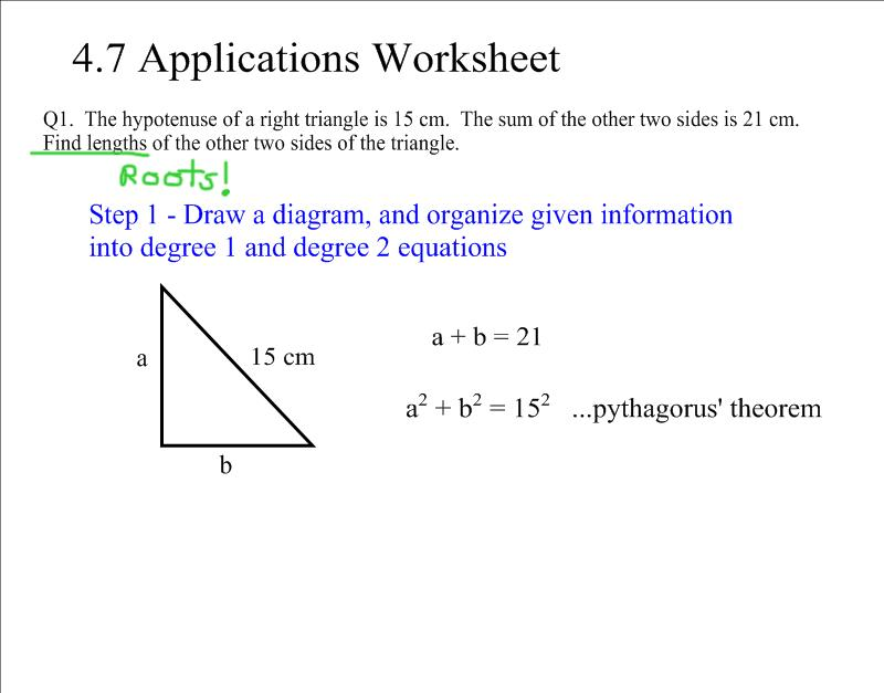 Collection Of Math Worksheets Grade 10