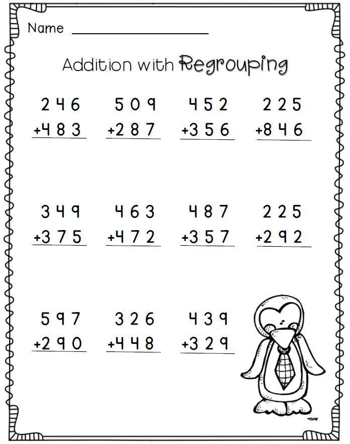 Collection Of Math Worksheets Of Grade 3