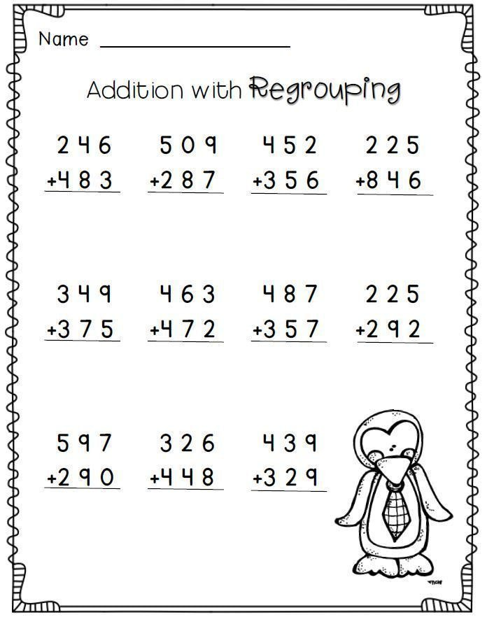 Collection Of Maths Worksheets Year 3 Addition