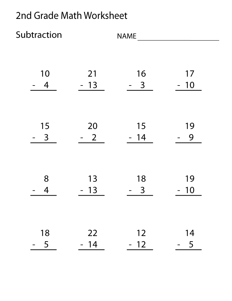 Collection Of Multiplication Worksheets Printable 2nd Grade