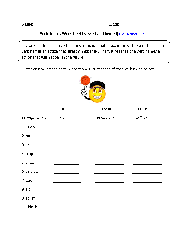 Collection Of Powerful Verbs Worksheet Year 3