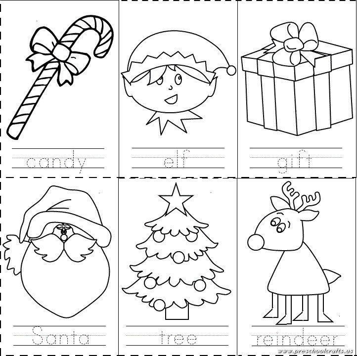 Collection Of Preschool Christmas Worksheets