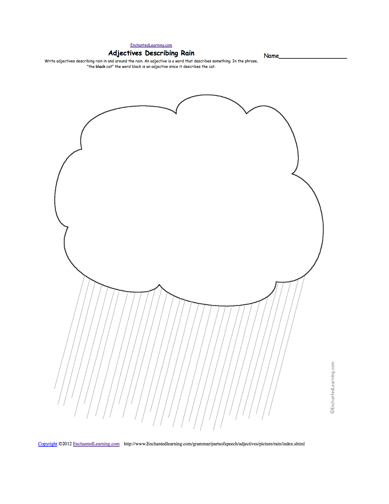 Collection Of Rainy Day Worksheets Preschool