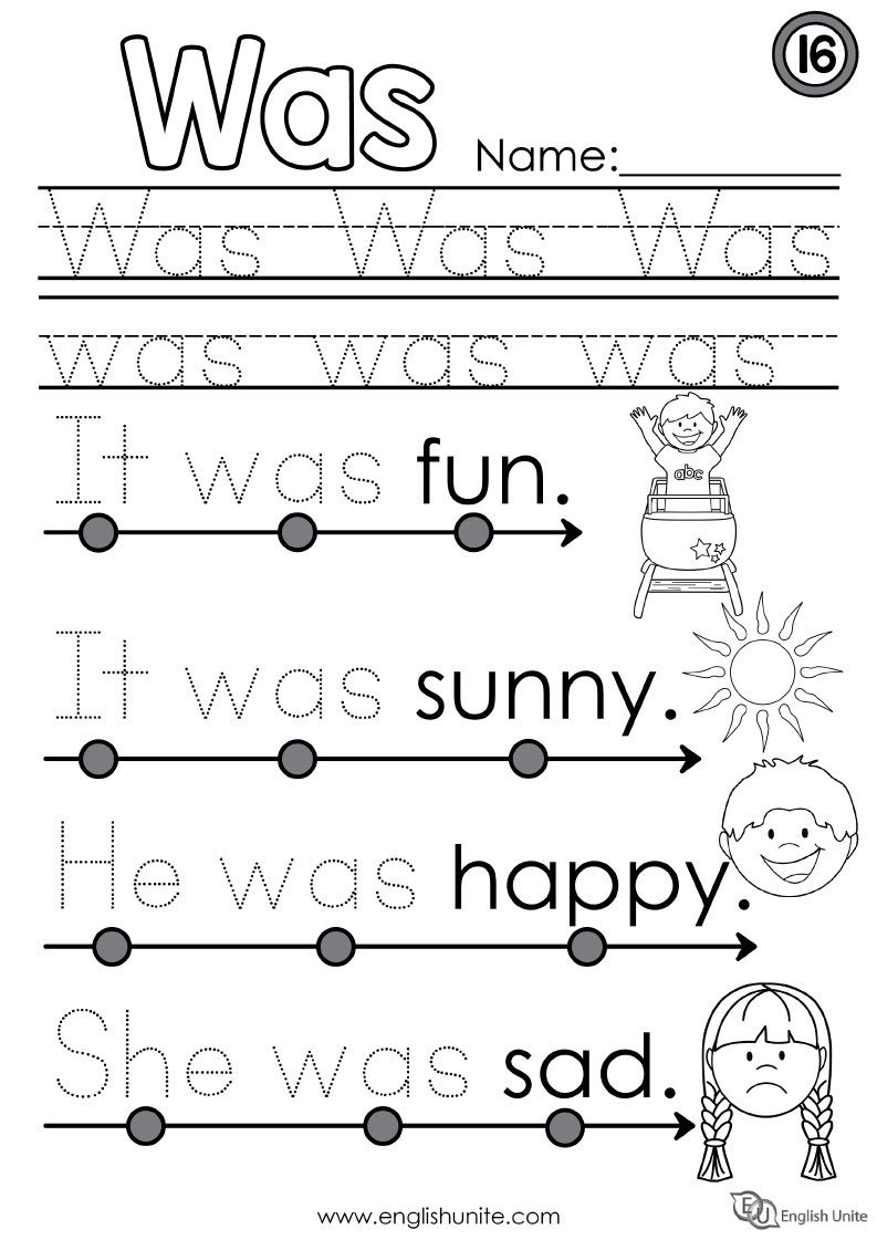 Collection Of Simple Reading Worksheets For Kindergarten