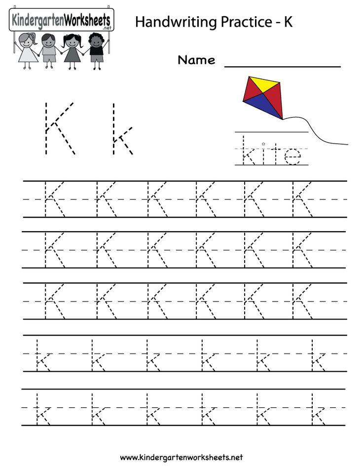 Collection Of Worksheet For Kindergarten Letter K