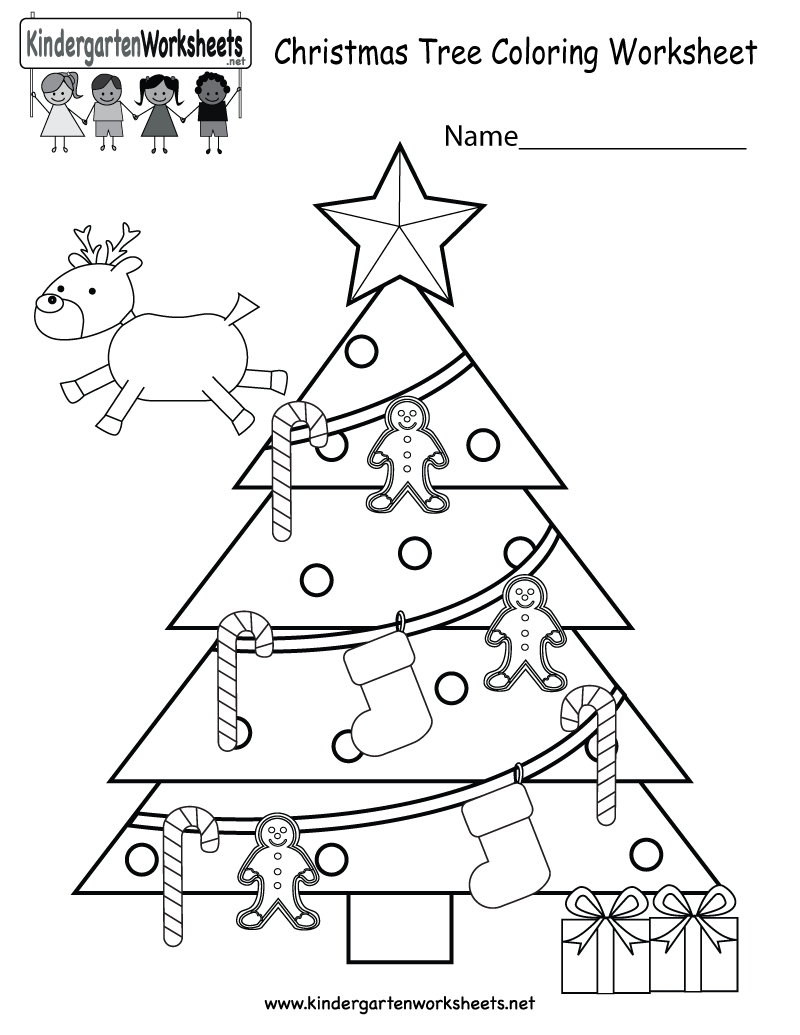 Collection Of Worksheets On Christmas For Kindergarten