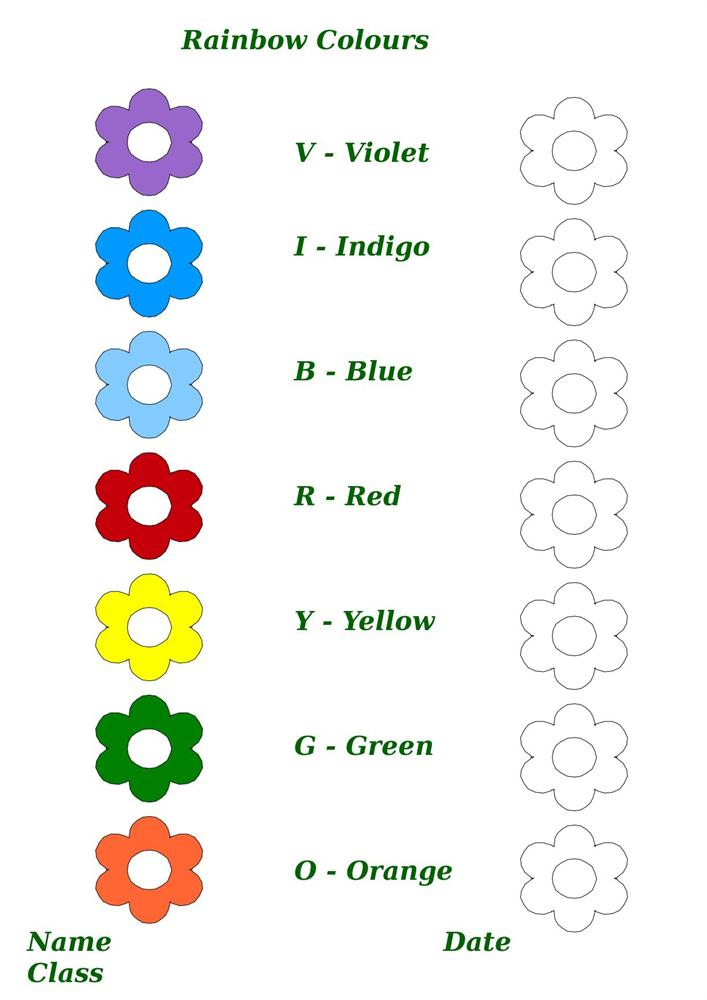 Colours Worksheets For Kindergarten Pdf 898558