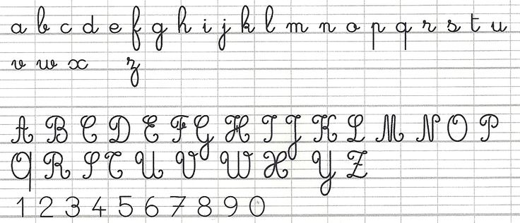 Common Worksheets » How To Write Cursive Writing A To Z