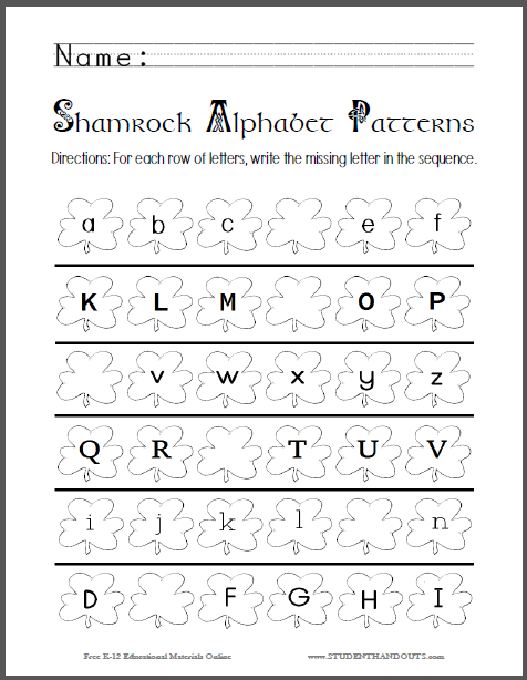 Complete Alphabet Coloring Pages  Complete Alphabet With S Free