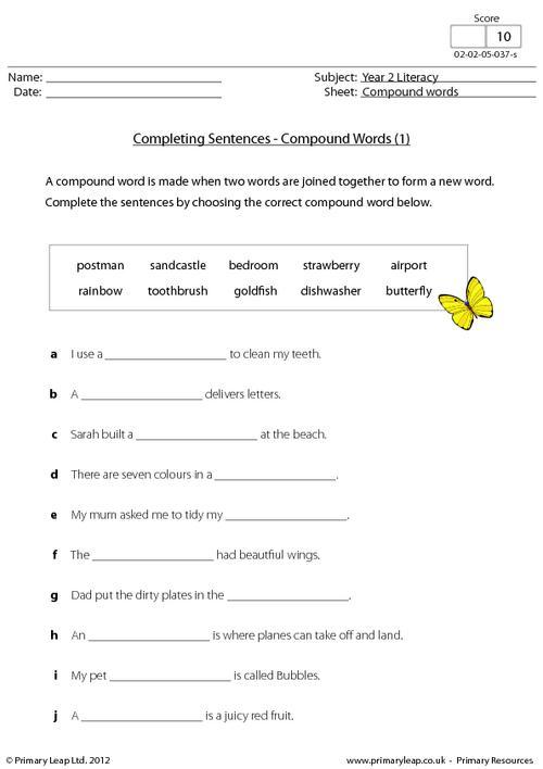 Completing Sentences