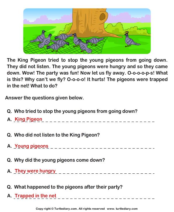 Comprehension Worksheet Grade 2 The Best Worksheets Image