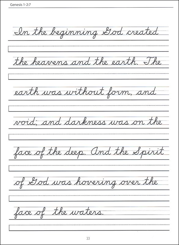 Cursive Writing Worksheets For Third Grade 162281