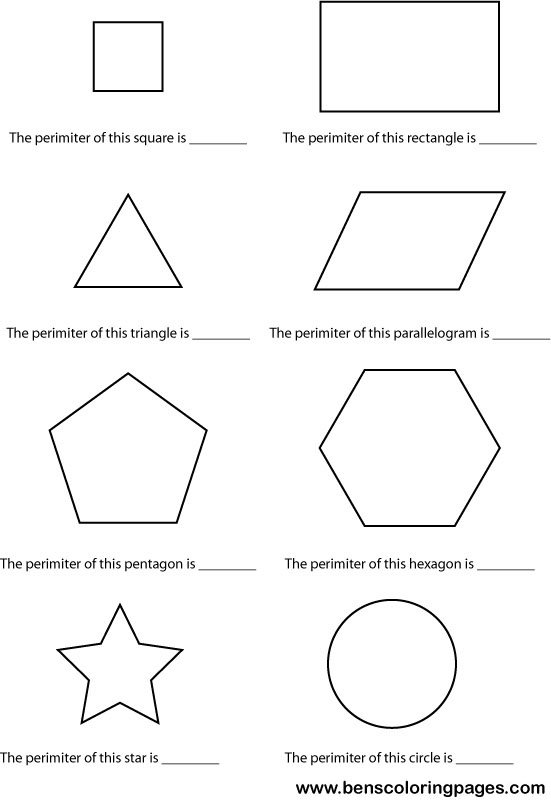 Easy Perimeter Worksheets The Best Worksheets Image Collection