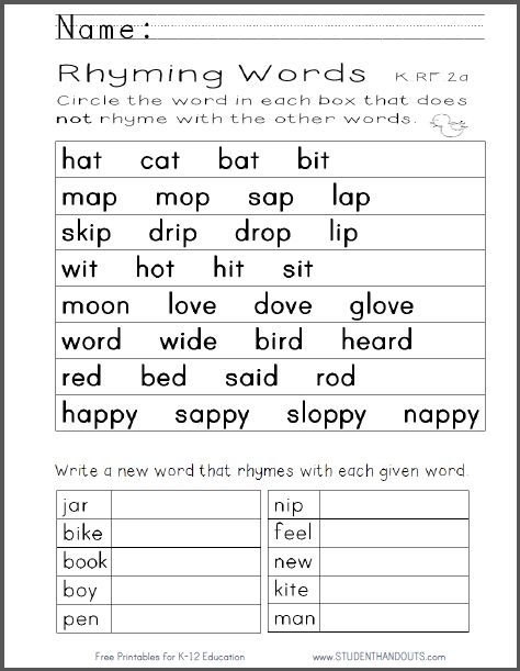 English Worksheets For Kindergarten Pdf 680464