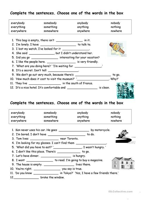 Esl Pronouns Worksheet The Best Worksheets Image Collection
