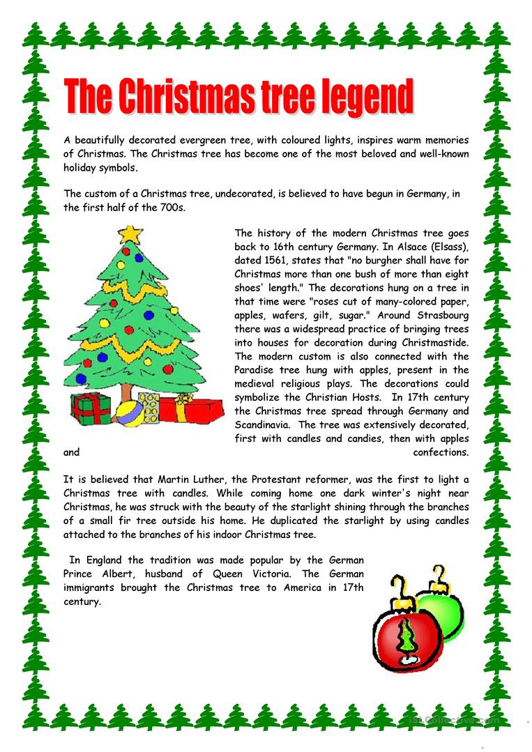 Free Christmas Reading Comprehension Worksheets 484172