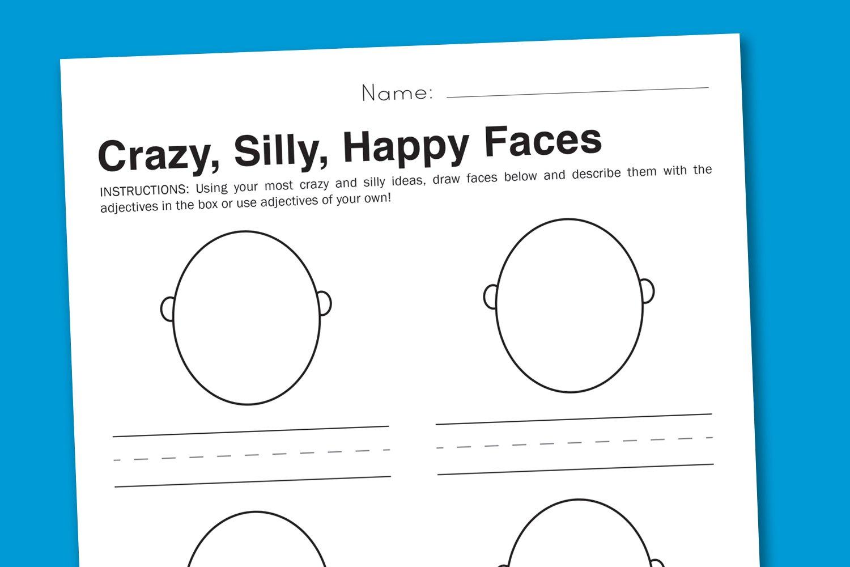 Free Emotions Worksheets For Kindergarten 371095